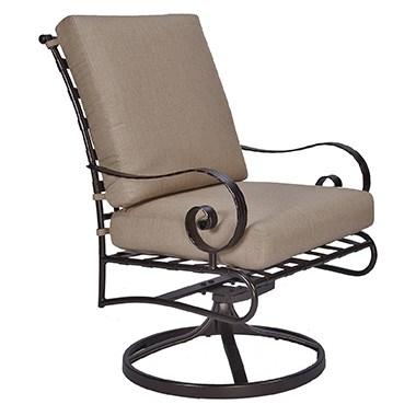 Classico W Swivel Rocker Club Dining Arm Chair