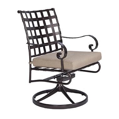 Classico W Swivel Rocker Dining Arm Chair