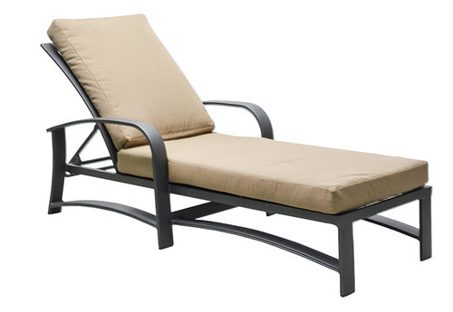 Martinique Cushioned Chaise