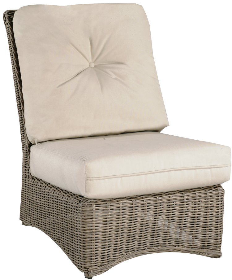 West Hampton Armless Chair