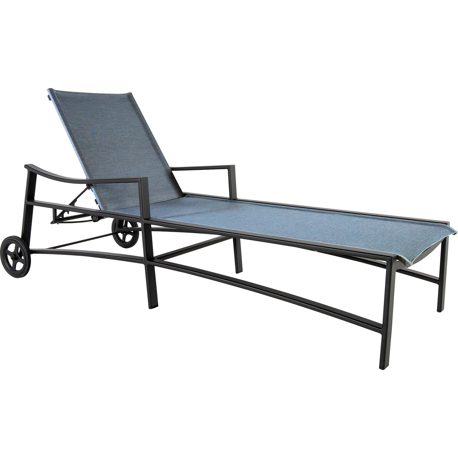 Avana Sling Adjustable Chaise with Wheels