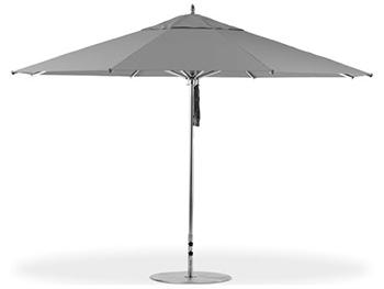 10' G-Series Greenwich Giant Square Designer Aluminum Umbrella
