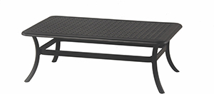 "New Classic 28"" x 48"" Rectangle Cast Aluminum Coffee Table"