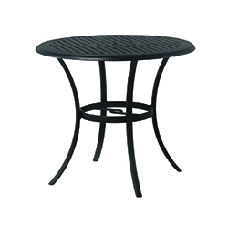 """New Classic 42"""" Round Cast Aluminum Counter Height Table"""