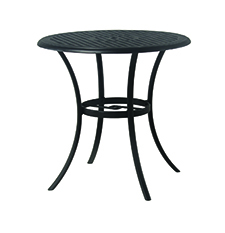 "New Classic 42"" Round Cast Aluminum Bar Table"