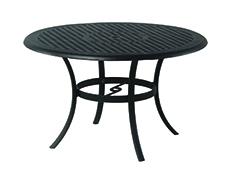 """New Classic 48"""" Round Cast Aluminum Table"""