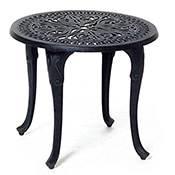 """Tuscany 21"""" Round Tea Table"""