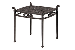 """Tuscany 21"""" Square End Table"""