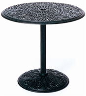"""Tuscany 30"""" Round Pedestal Table 29"""" High"""