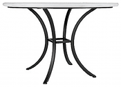 "48"" Iron Classic Bistro Table Base"
