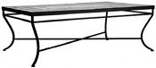 "48"" Aluminum Classic Rectangle Bistro Table Base"