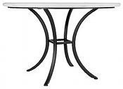 "60"" Iron Classic Bistro Table Base"