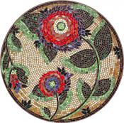 Dahlia Classic Mosaic Table Top