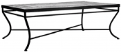 """48"""" Iron Classic Rectangle Bistro Table Base"""