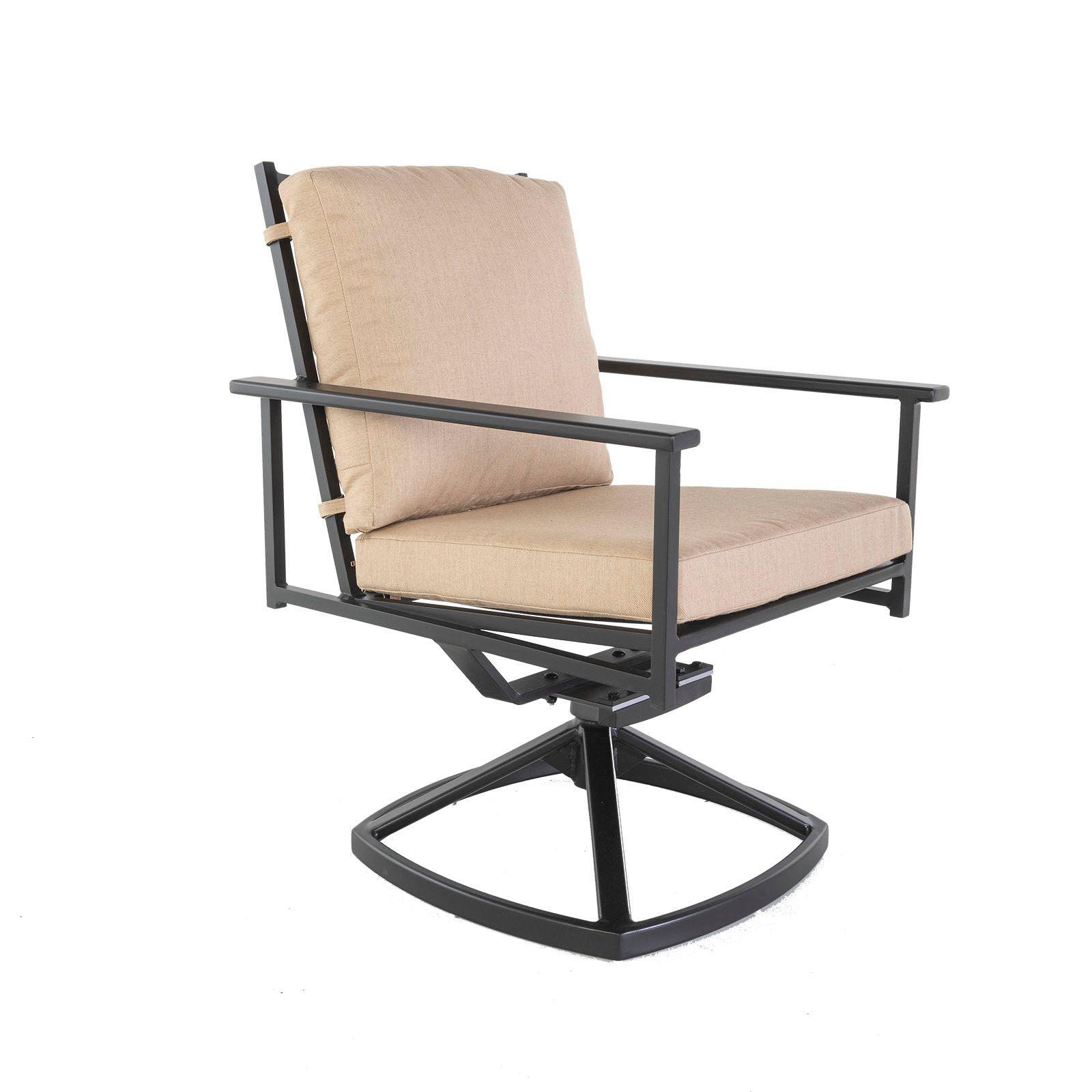 Kensington Swivel Rocker Dining Arm Chair