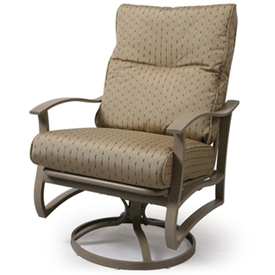 Swivel Rocking Dining Arm Chair