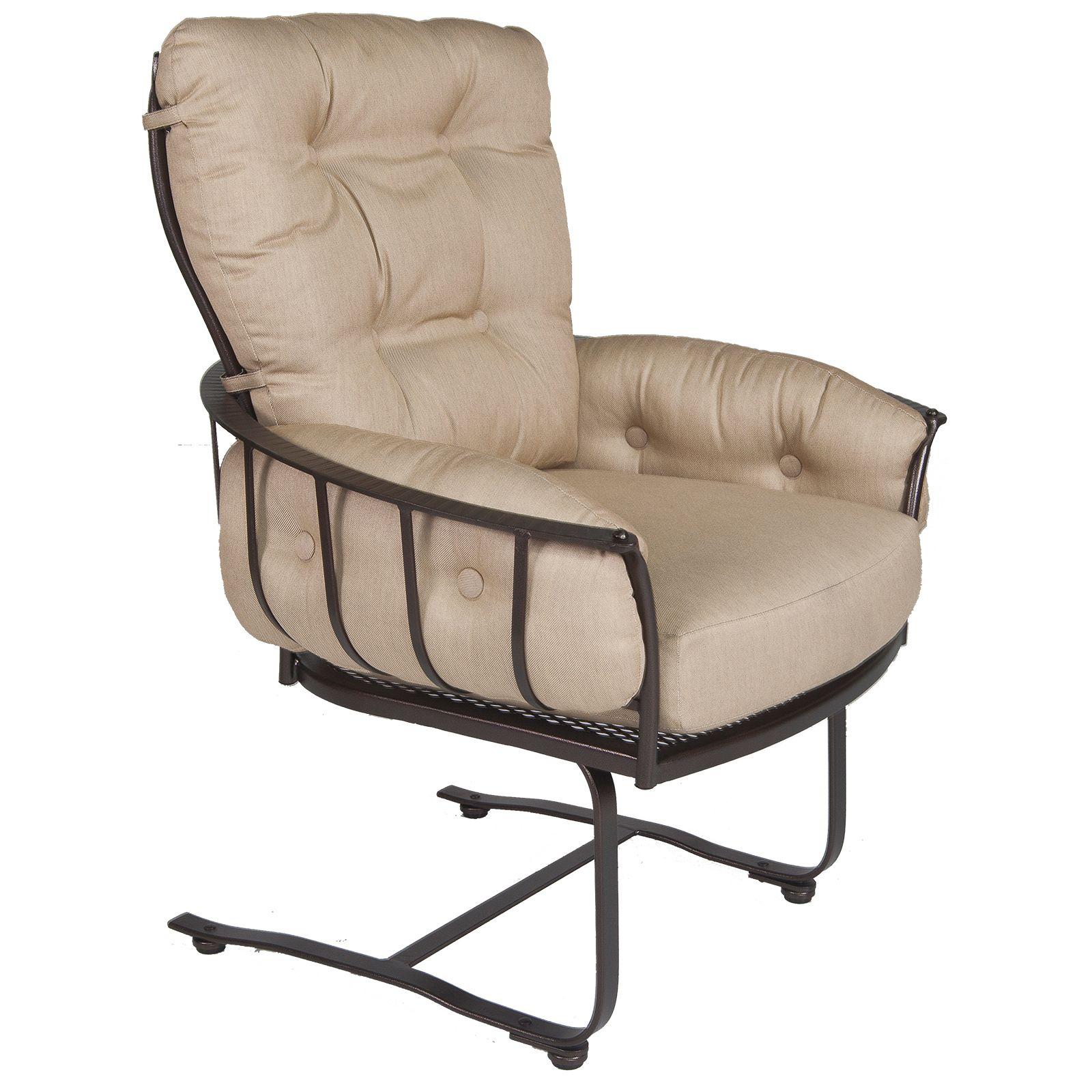 Monterra Urban-Scale Spring Base Lounge Arm Chair