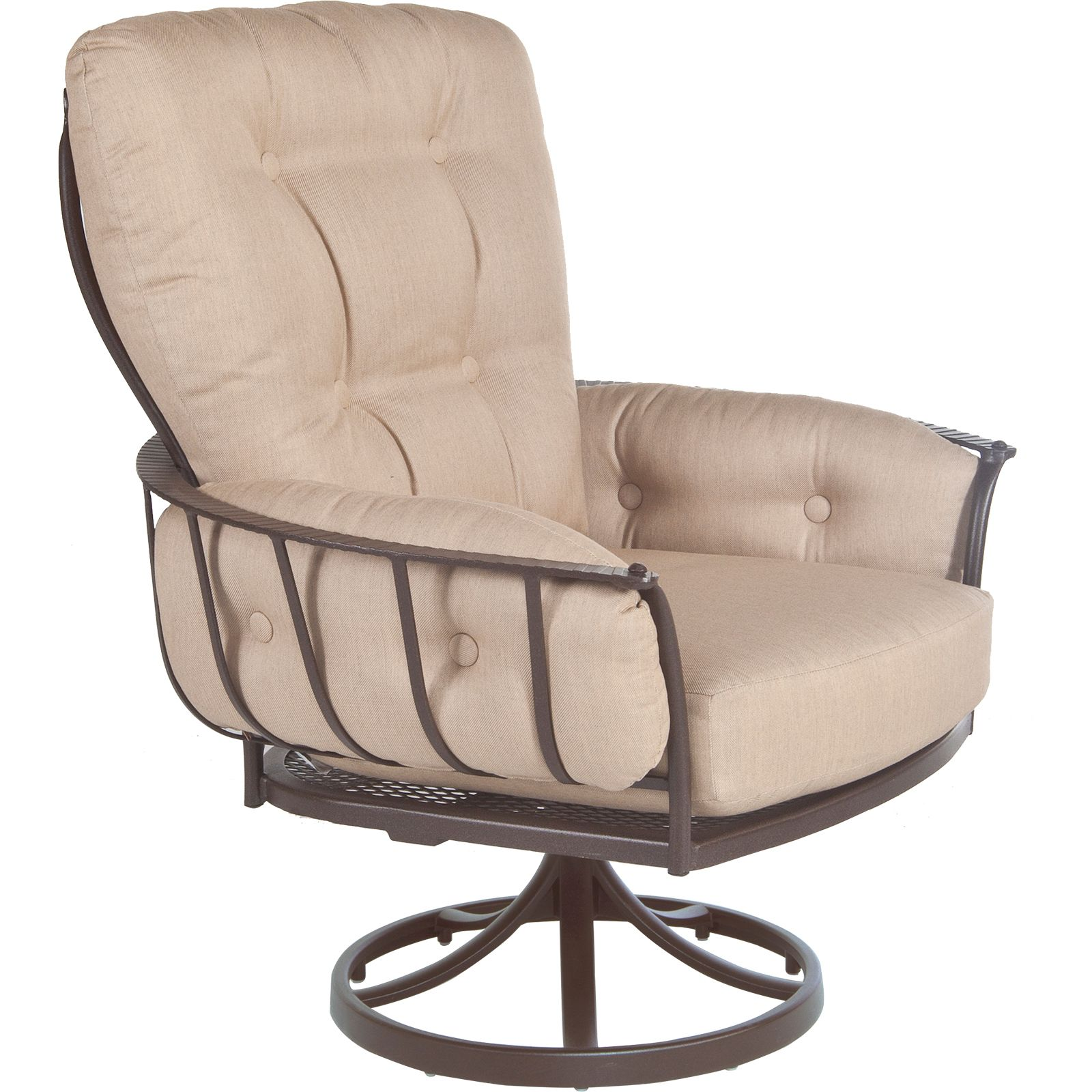 Monterra Urban-Scale Swivel Rocker Arm Chair