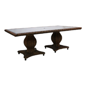"""Antigua 96"""" Rect Dining Table"""