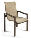 Belvedere Woven High Back Dining Chair