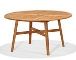 "Teak Braeburn 55"" Round Dining Table"