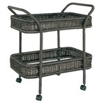 Serving Trolley w/ Glass Top