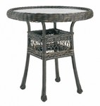 """30"""" Round Bistro Table w/ Glass Top"""