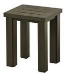 """Sherwood 16"""" x 18"""" Slat Tea Table"""