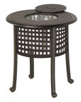 "Classic 20"" Round Ice Bucket Table"