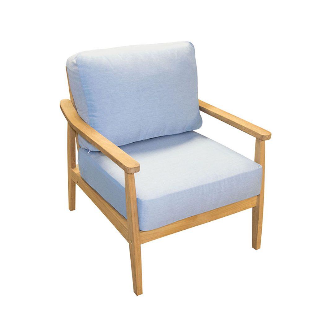 Teak Seaside Club Chair