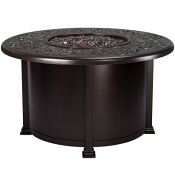 """42"""" Rd. Chat Height Hacienda Fire Pit"""