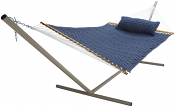 Large Soft Weave Hammock - Blue