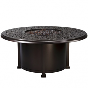 """54"""" Rd. Chat Height Hacienda Fire Pit"""