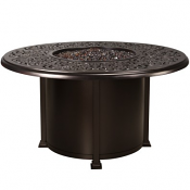 """54"""" Rd. Dining Height Hacienda Fire Pit"""