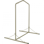 Large Steel Swing Stand - Taupe