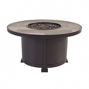 """36"""" Rd. Occasional Height Santorini Iron Fire Pit"""