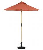 111/211 6' Wood Cafe Umbrella