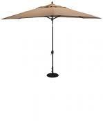 779 8' x 11' Deluxe Auto Tilt Oval Umbrella