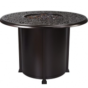 """54"""" Rd. Counter Height Hacienda Fire Pit"""